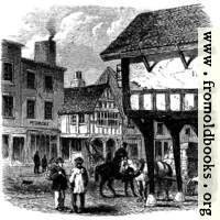[picture: Ancient Half-Timbered Houses, Foregate Street]