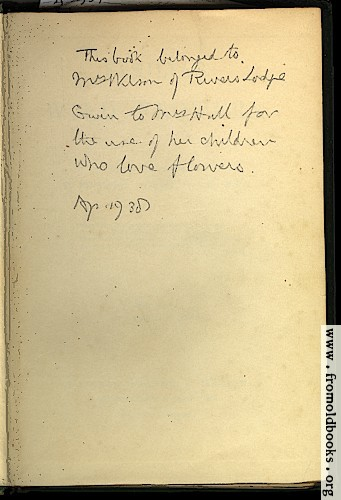 [Picture: Inscription in the book]