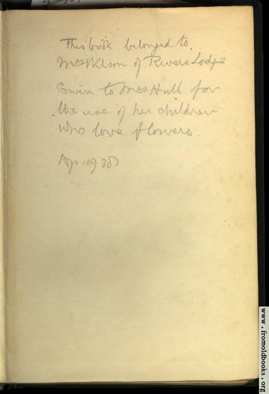 [Picture: Inscription in the book]
