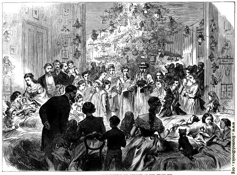 [Picture: Festival at the East London Hospital For Children on New Year's Eve]