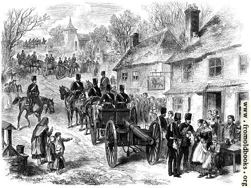 [Picture: The Easter Volunteer Review: The 1st Artillery on the March from London to Brighton]