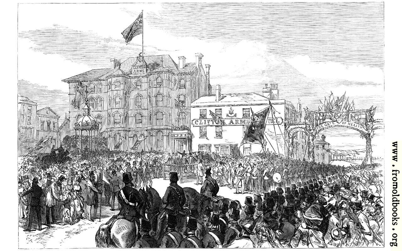 [Picture: Opening of a New Promenade and Drinking-Fountain at Blackpool, Lancashire]