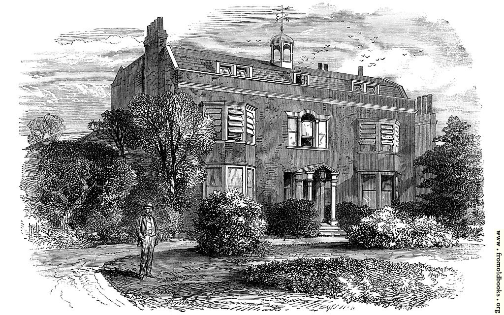 [Picture: Gadshill Place, Home of Charles Dickens.]