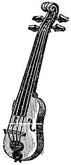 [picture: Musical Instruments at the South Kensington Museum: L.---Italian Kit, or Small Fiddle.]