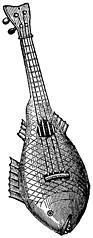 [picture: Musical Instruments at the South Kensington Museum: D.---Machête.]
