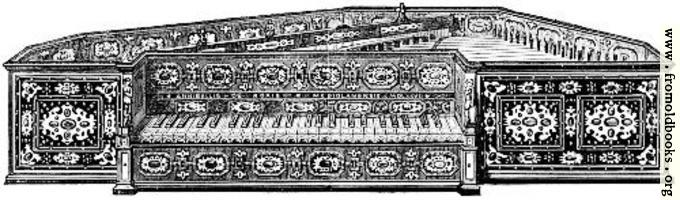 [picture: Musical Instruments at the South Kensington Museum: R.---Spinet]