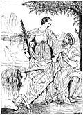 [picture: 145.---St. Justin and Alphonso I of Ferrara (Moretto)]