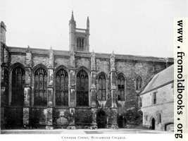 [Picture: Chamber Court, Winchester College, Hampshire]