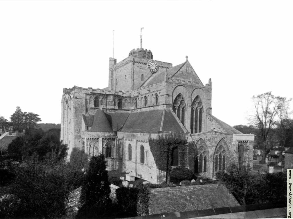 [Picture: Romsey Abbey, Hampshire]