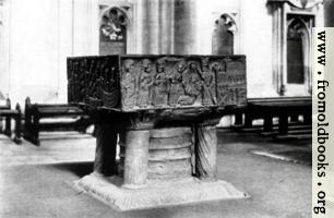 [picture: The Font, Winchester Cathedral]