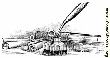 [picture: Letter Writing: Pen and Ink]