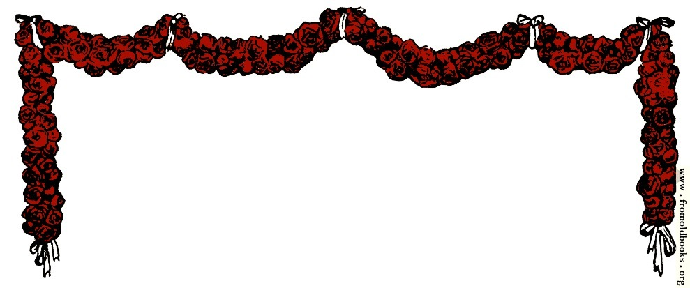 [Picture: Festoon or Garland of Roses]