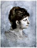 [Picture: Portrait of Anna Heyse]