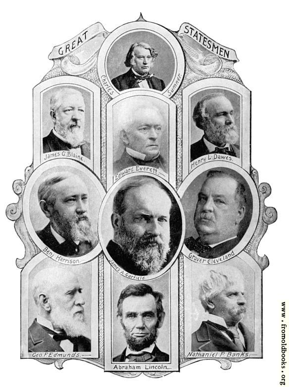 [Picture: Portraits of Great Statesmen 1]