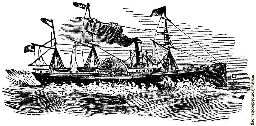 [Picture: Ornament: steam ship]