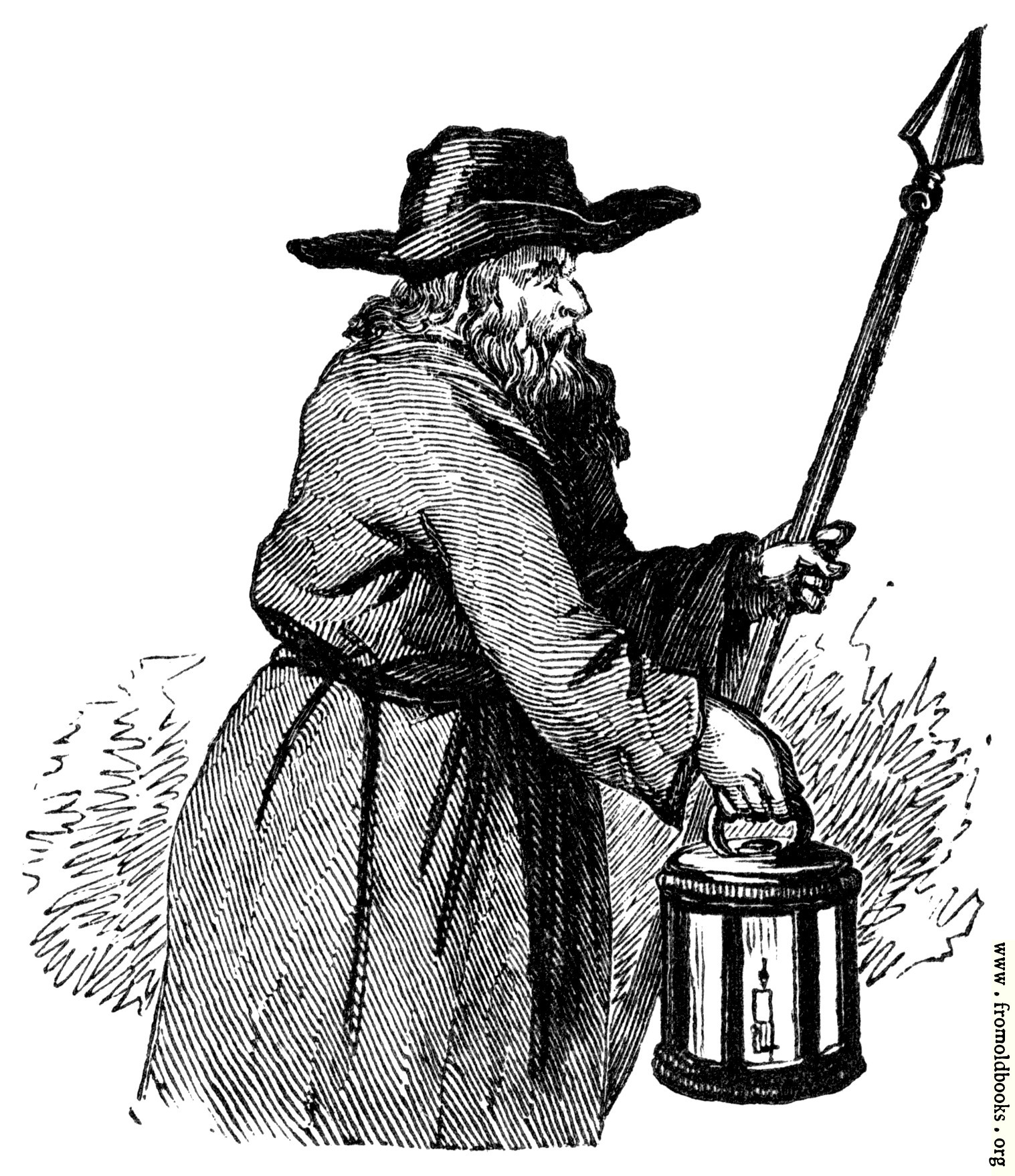 [Picture: Lantern-carrier]