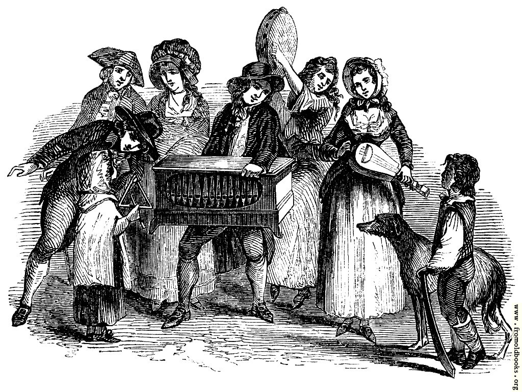 [Picture: Street Music—1789.]