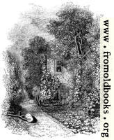 [Picture: Priot Bolton's Garden-house at Canonbury]