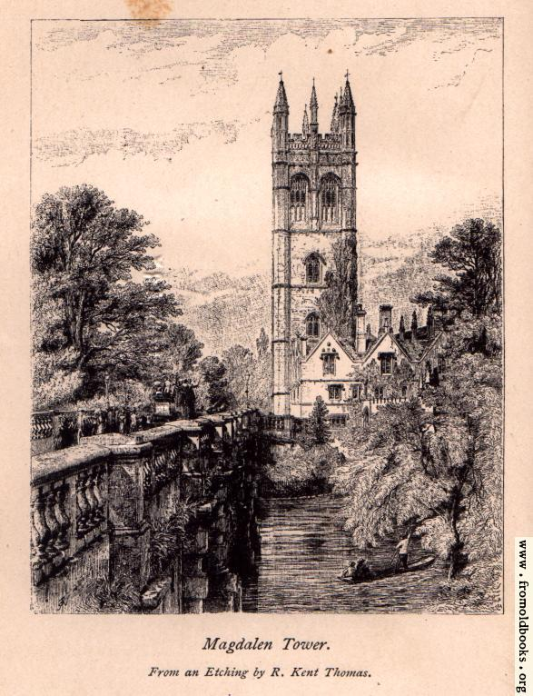 [Picture: Frontispiece: Magdalen Tower.]