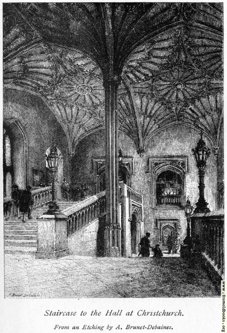 [Picture: Christchurch College, Oxford: Staircase to the hall]