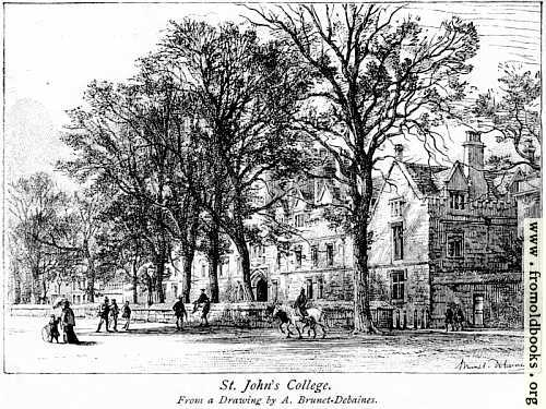[Picture: St John's College, Oxford]
