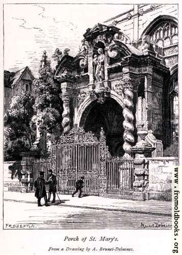 [Picture: Porch of St. Mary's]