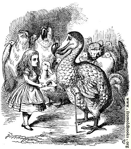 [Picture: Alice and the Dodo]