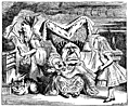 [Picture: Cook, Duchess, Cheshire Cat, Baby, and Alice]