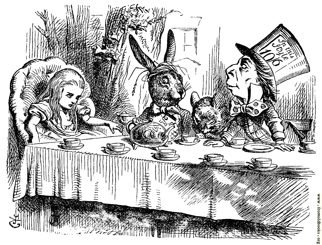 [Picture: Mad Hatter's Tea Party]
