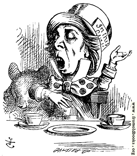[Picture: Hatter engaging in rhetoric]