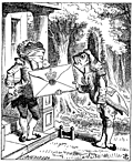 [picture: The Fish Footman and the Frog Footman]