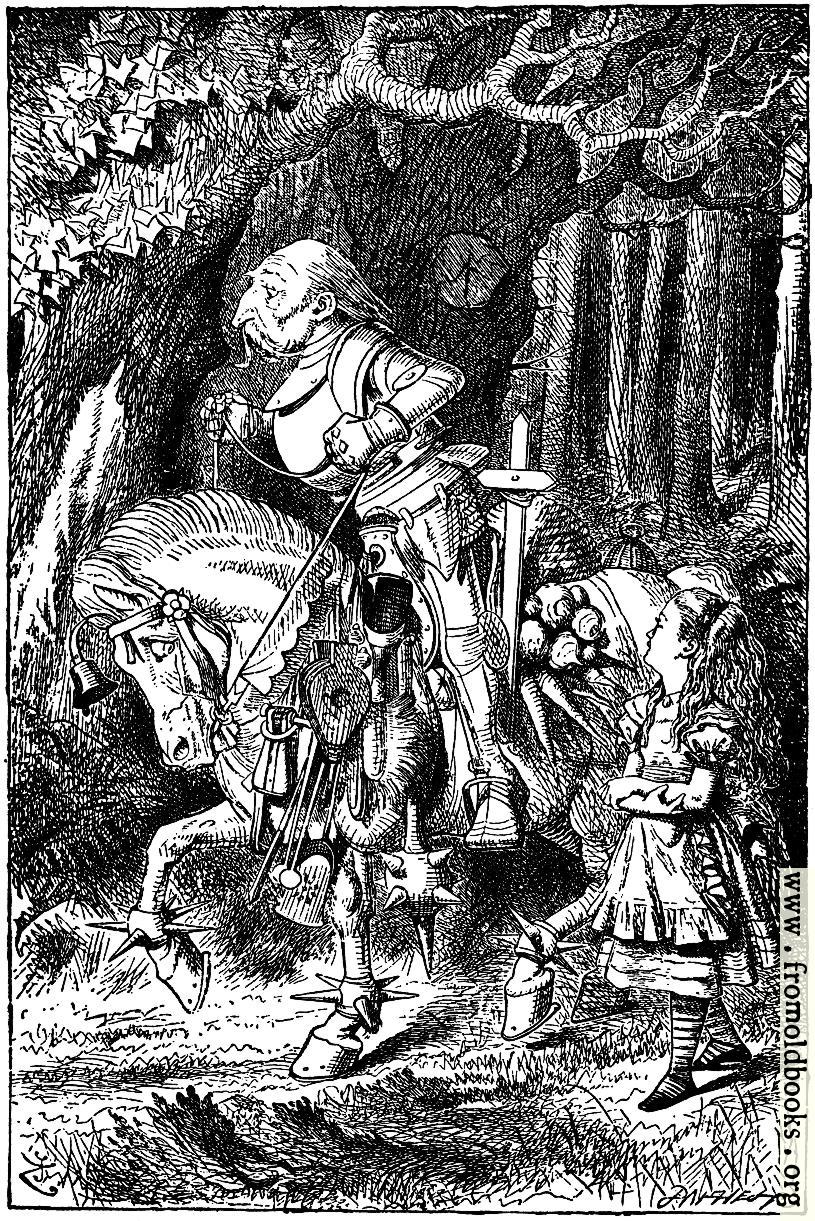 [Picture: Frontispiece: Alice and the White Knight]
