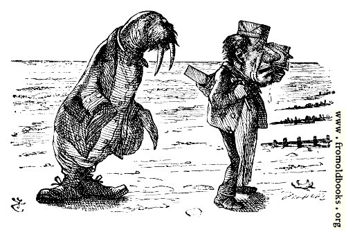 [Picture: The Walrus and the Carpenter]