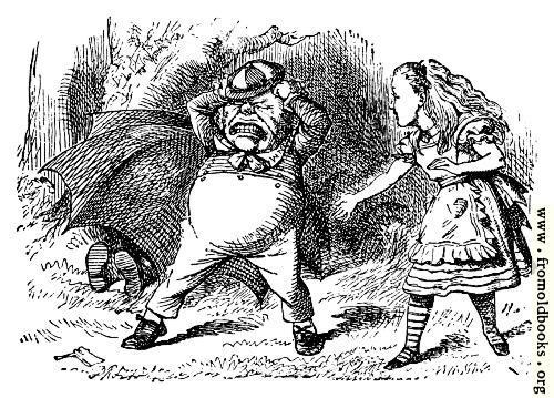 [Picture: Alice and the Umbrella.]