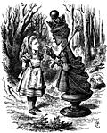 [picture: The Red Queen chastises Alice]