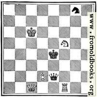 [picture: White Pawn (Alice) to play, and win in eleven moves.]