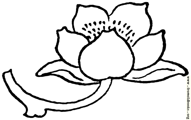 [Picture: typographic ornament: flower pointing right]