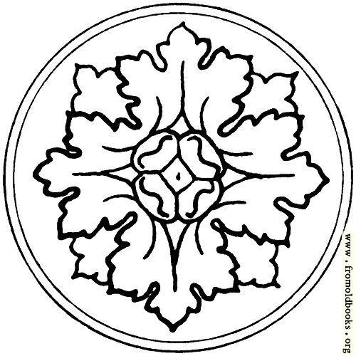 [Picture: typographic ornament: rosette]