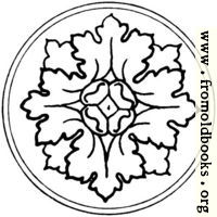 [picture: typographic ornament: rosette]