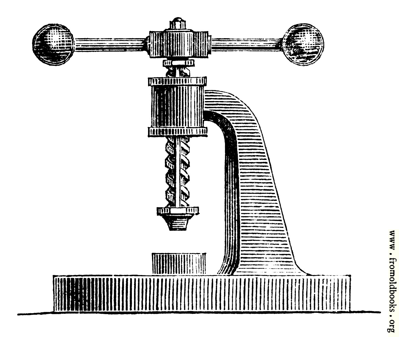 [Picture: 59.—Screw Press.]