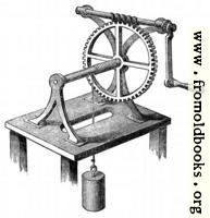 [picture: 61.---Wheel and axle comined with a screw.]