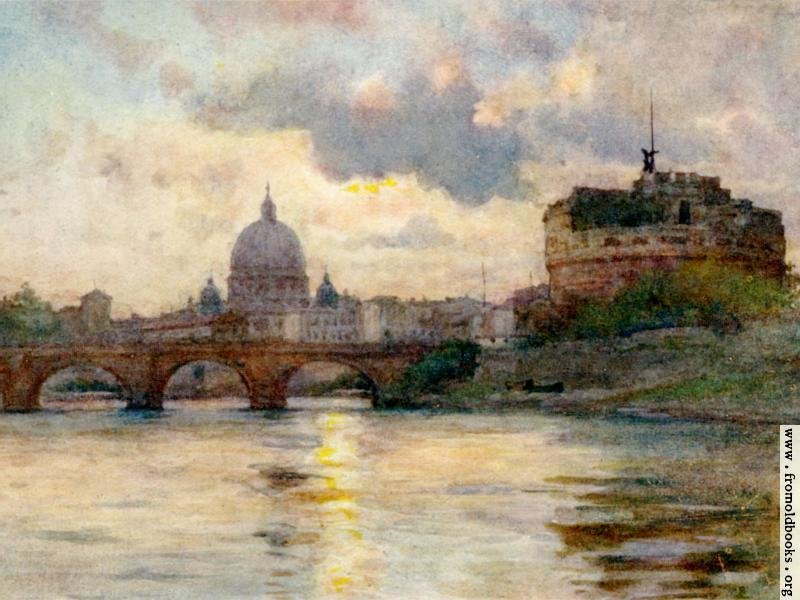 [Picture: St. Peter's Rome from the River Tiber: wallpaper version]