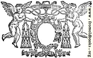 [picture: Cartouche from Dedication Page]