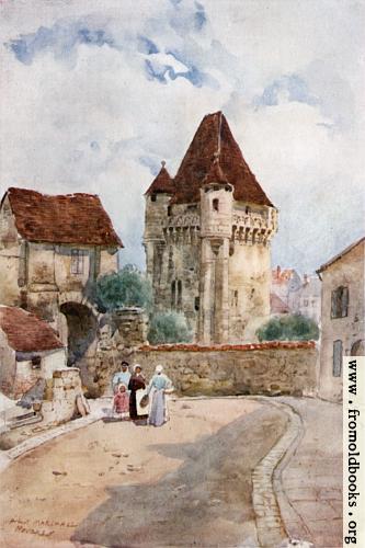 [Picture: Porte du Croux, Nevers]