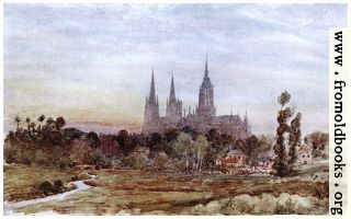 [picture: Bayeux from the Meadows]