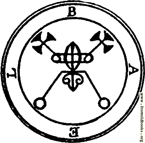 [Picture: 1. Seal of Bael.]