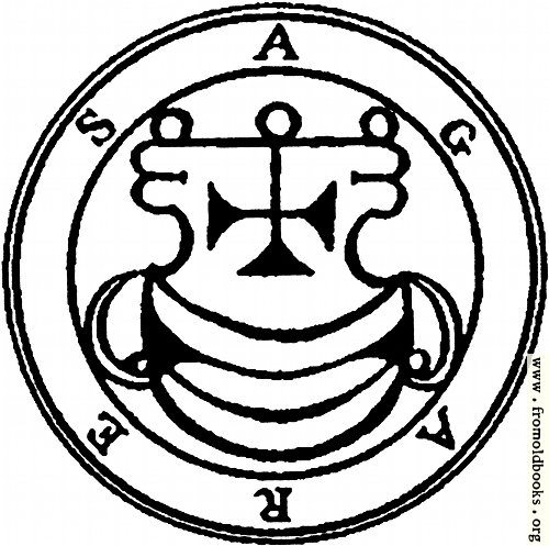 [Picture: 2. Seal of Agares.]