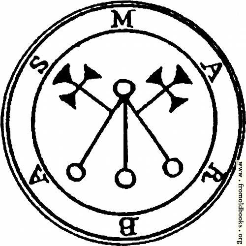 [Picture: 5. Seal of Marbas.]