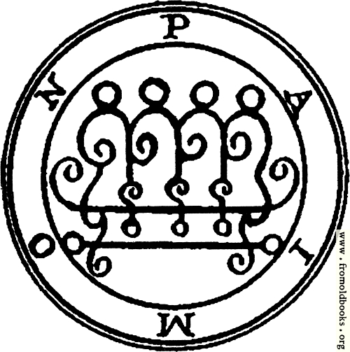 [Picture: 9. Seal of Paimon (First version)]