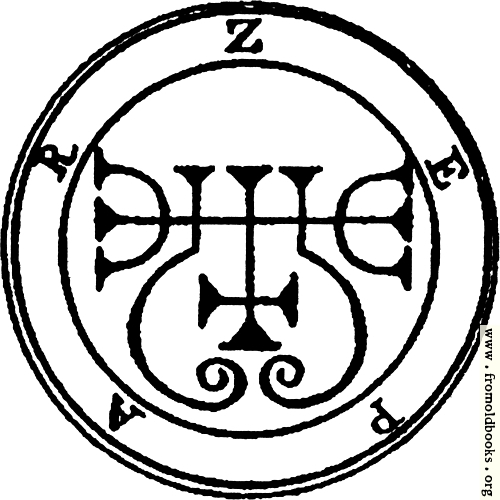 [Picture: 16. Seal of Zepar.]